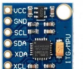 Accelerometer MPU 6050 Communication With AVR MCU