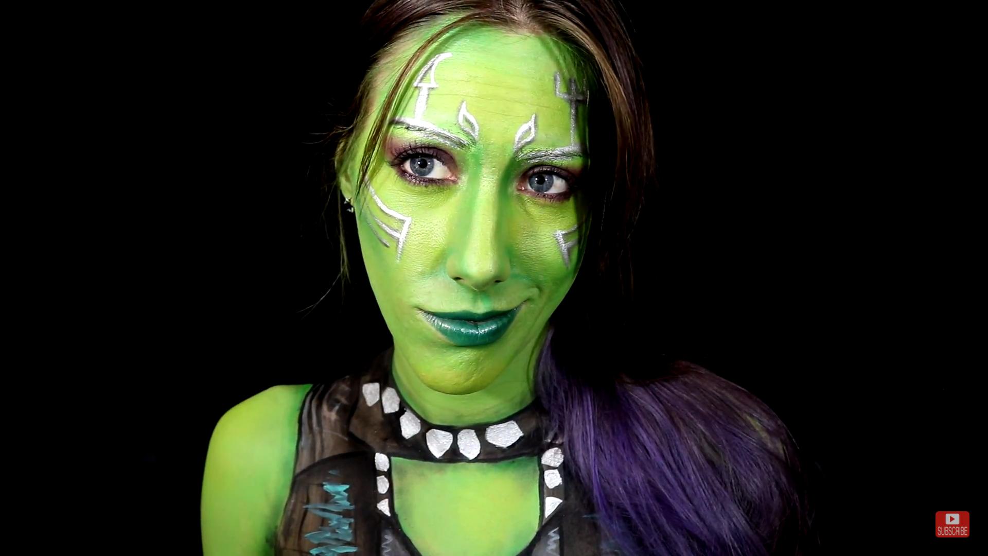 Picture of Gamora Makeup