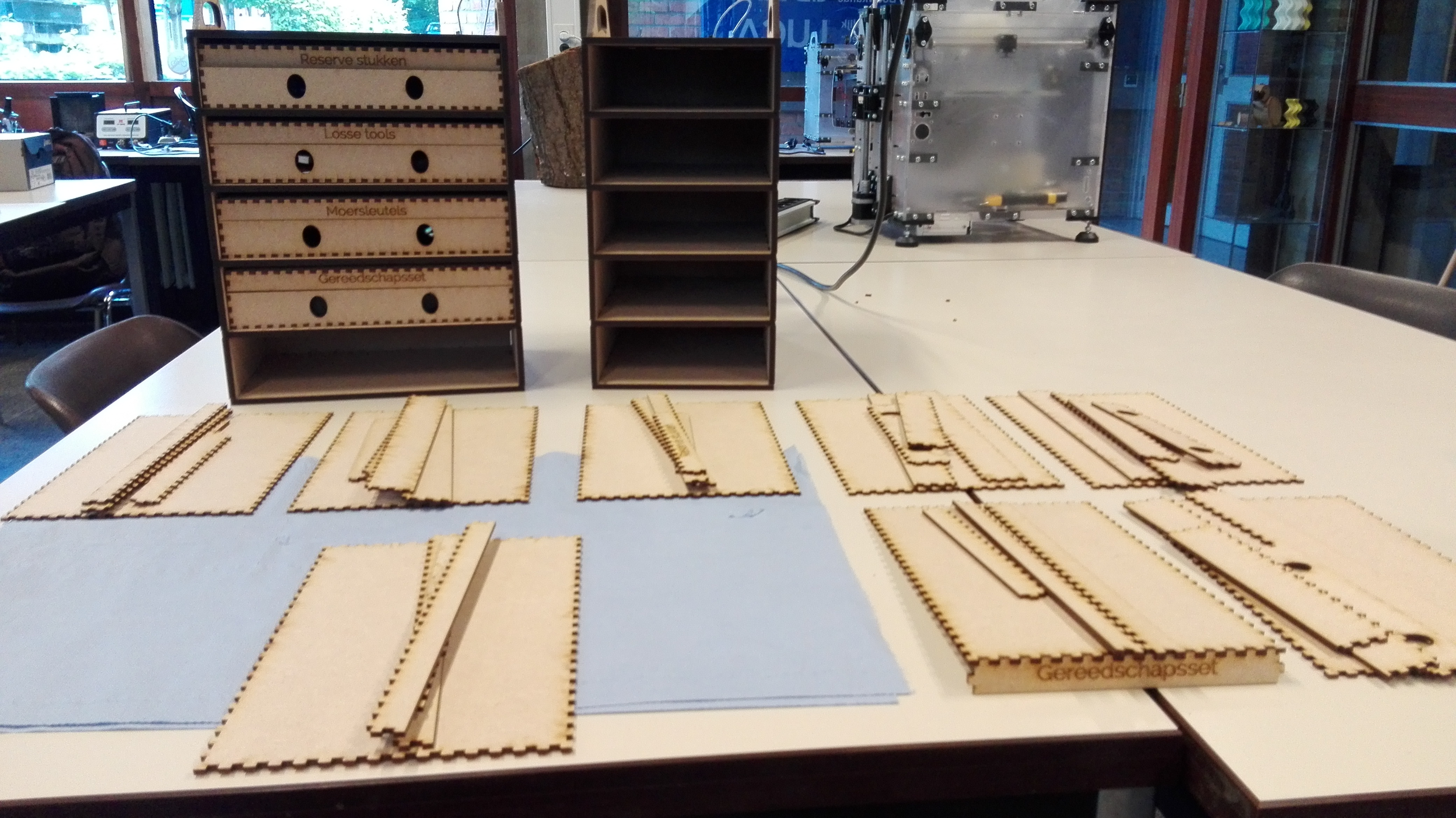 Picture of Making the Small Boxes