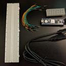 CmodA7 7-segment Stopwatch