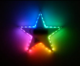 Kids RGB LED Star Nightlight