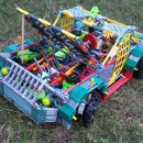 RC truck with 2 speed trans, suspension and steering