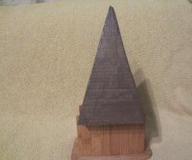 Pyramid Shaped Model Rocket