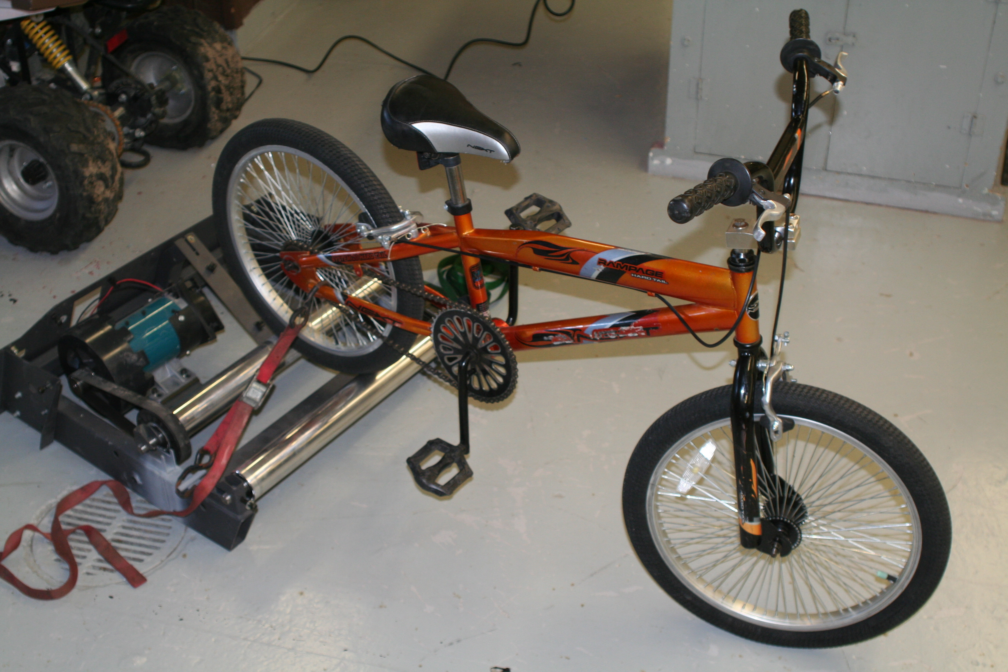 Picture of Build a Bike Dyno- Calculate YOUR HORSEPOWER!