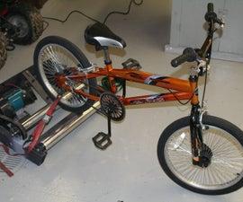 Build a Bike Dyno- calculate YOUR HORSEPOWER!