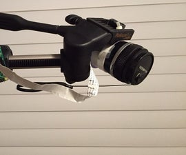 RPI Interchangeable Lens Camera From Old SLR Camera Lens