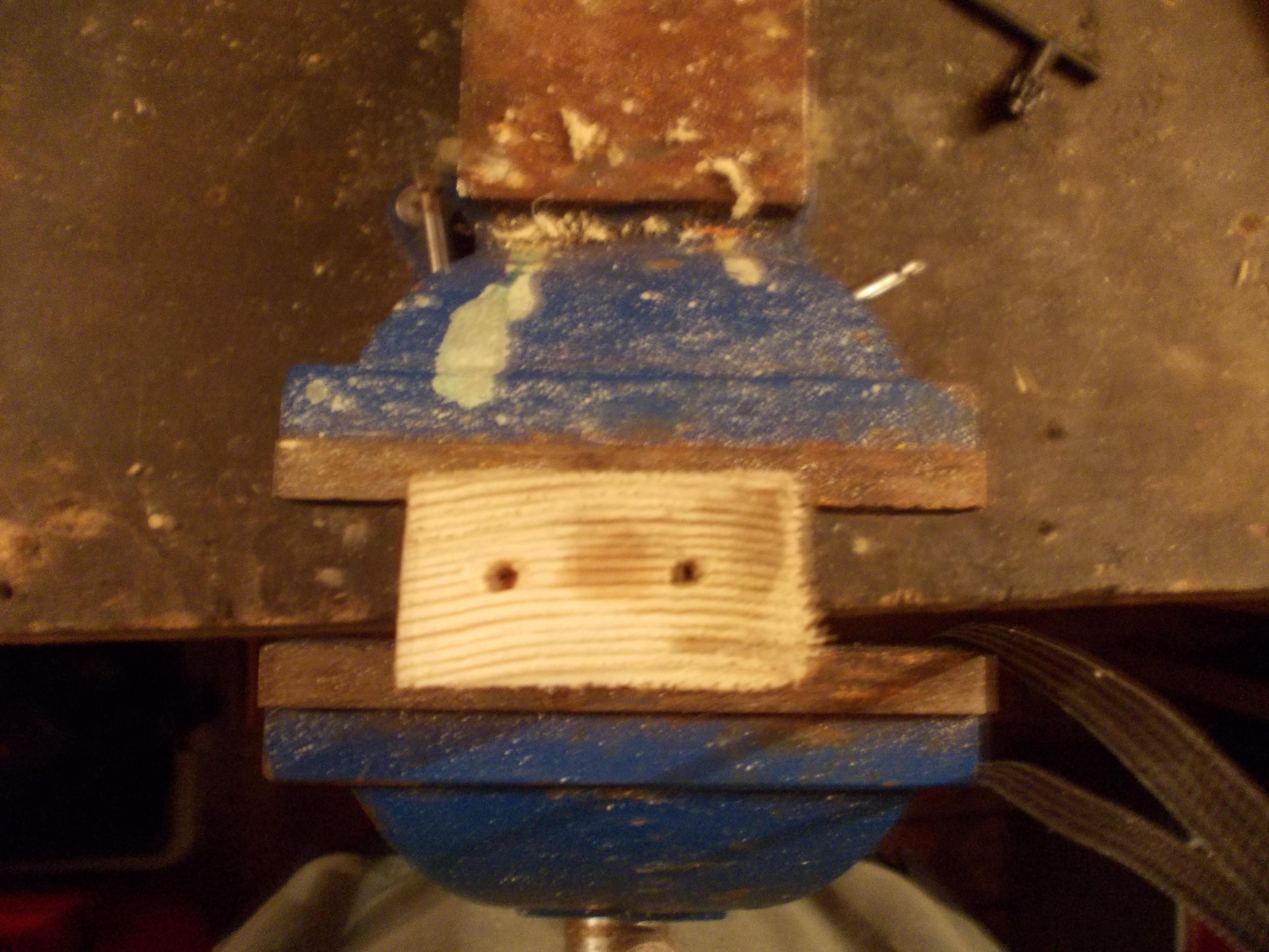 Picture of Mounting Bearing Blocks to Base