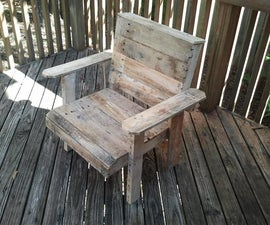 Pallet Deck Chair