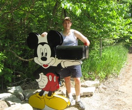 Mickey Mouse Holding Your Mailbox