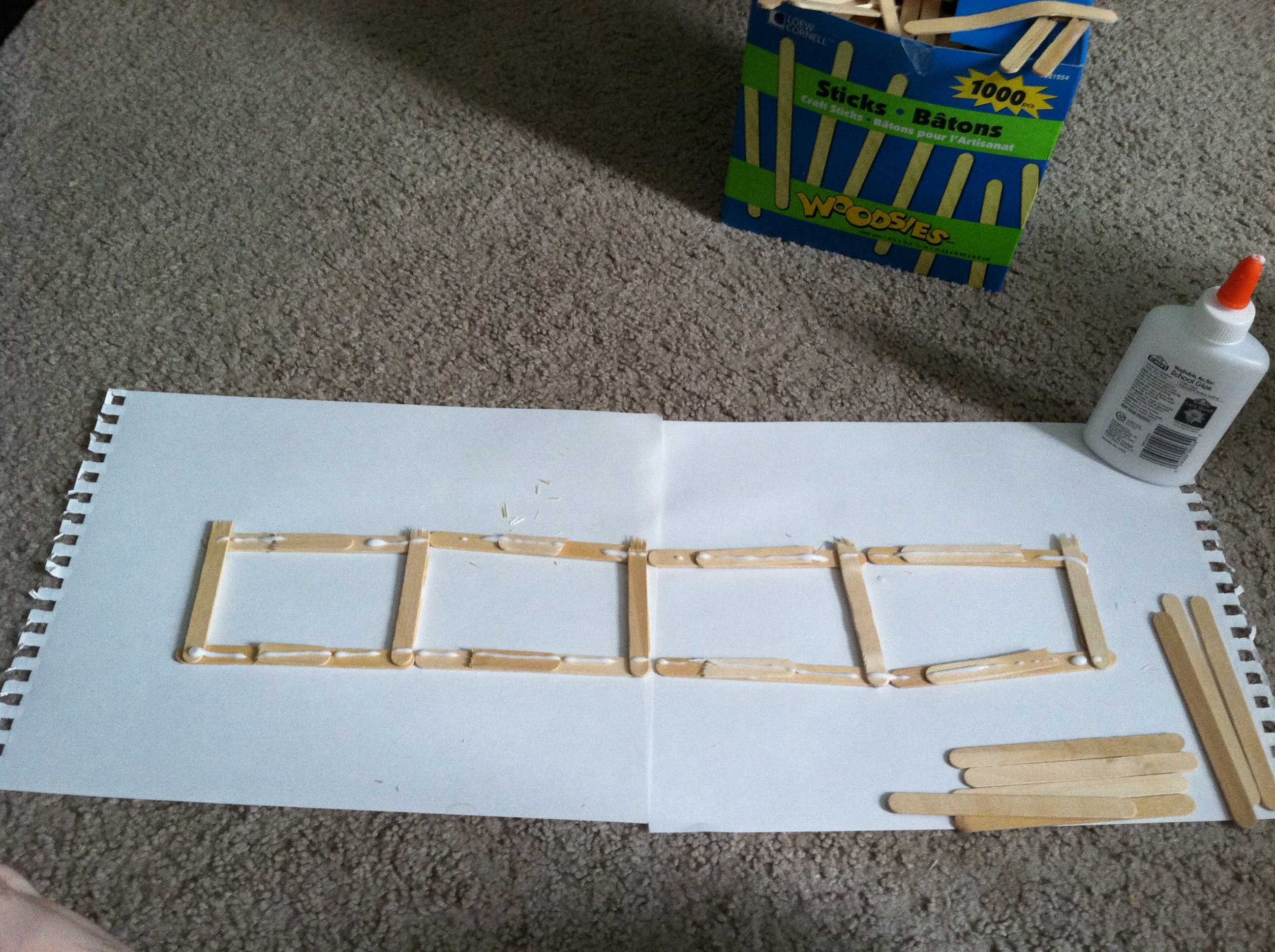 Picture of Constructing the Frame Part 3