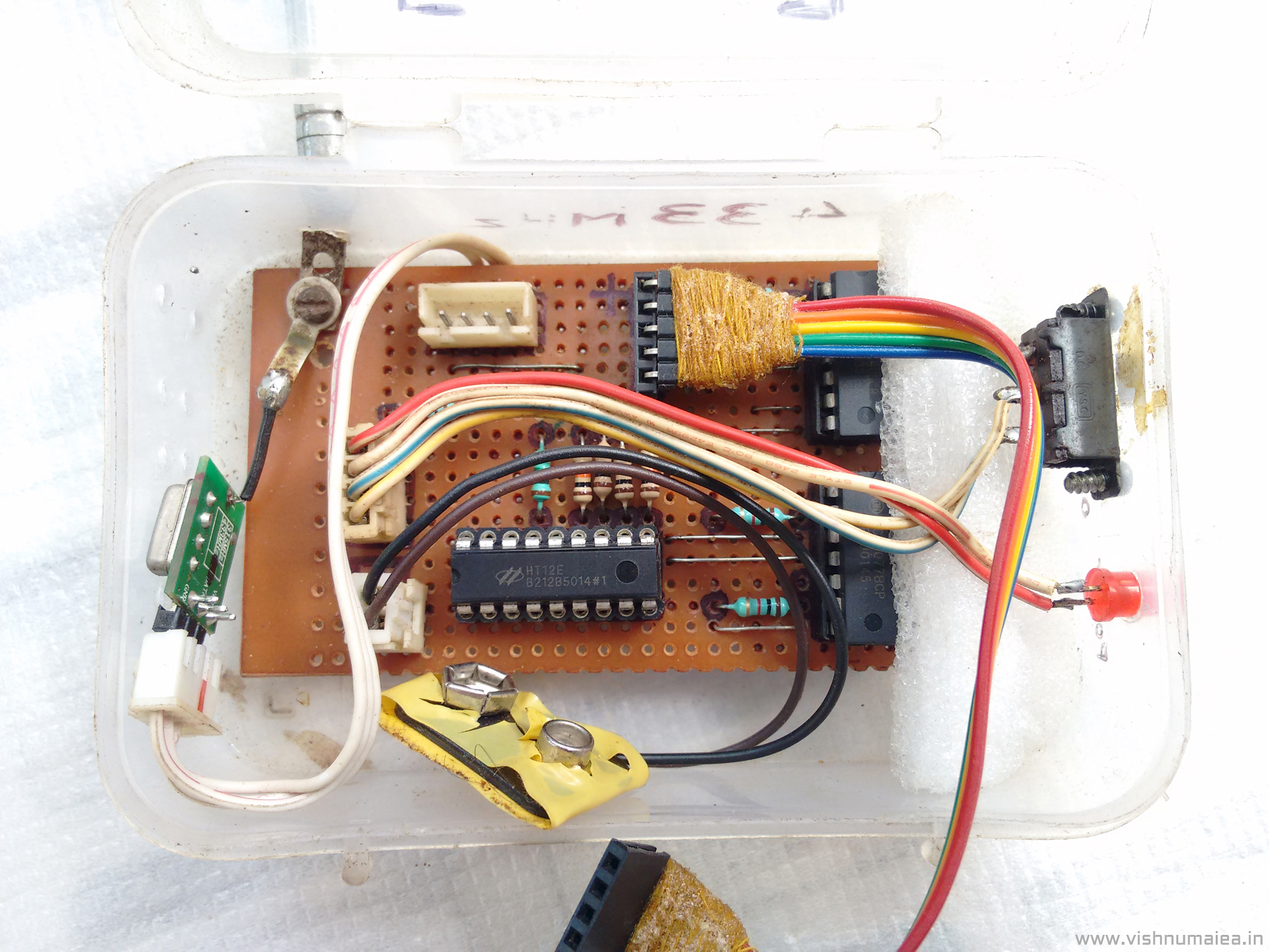 Picture of Building the RF Remote Cotroller