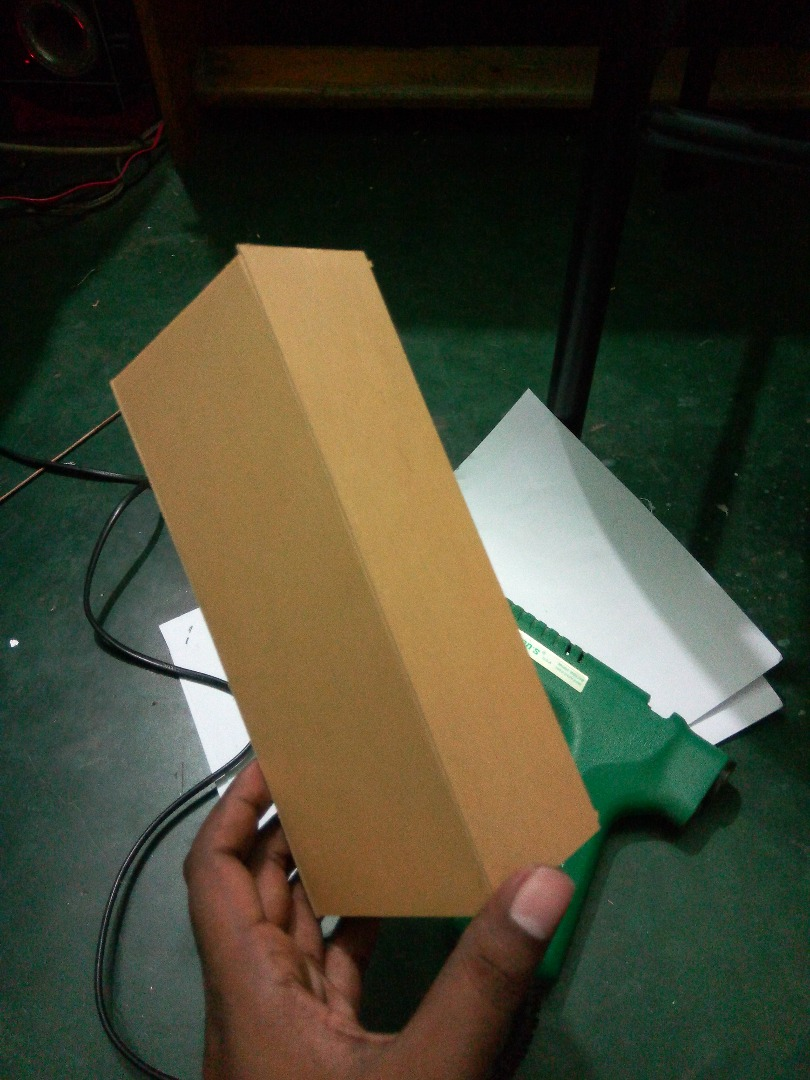Picture of Make the Box (Use Hot Glue)