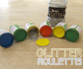 Glitter Roulette with Party Poppers