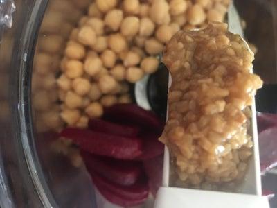 Creating the Hummus