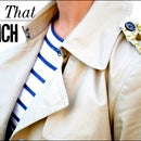 DIY Studded Trench Coat