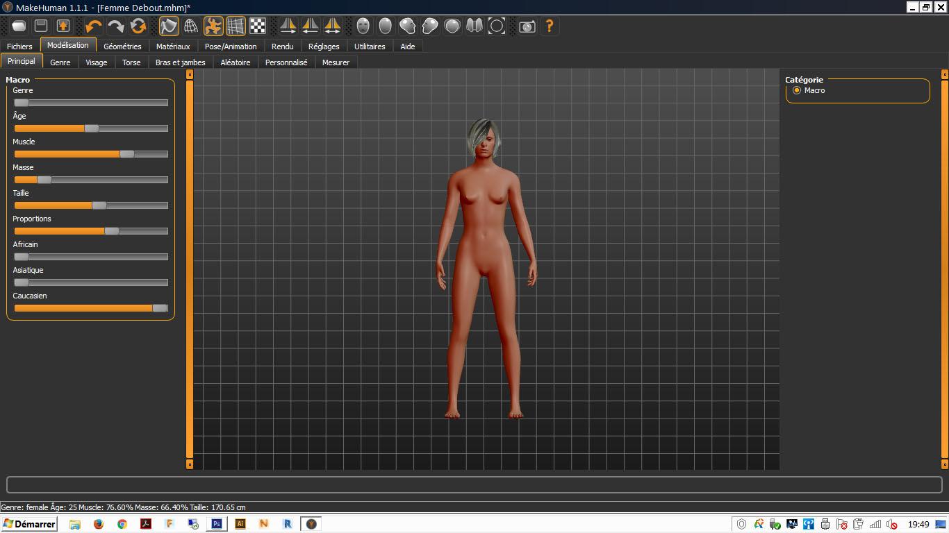 Picture of Création D'un Avatar 3D