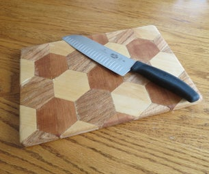 Cutting Board Made From Domestic Woods