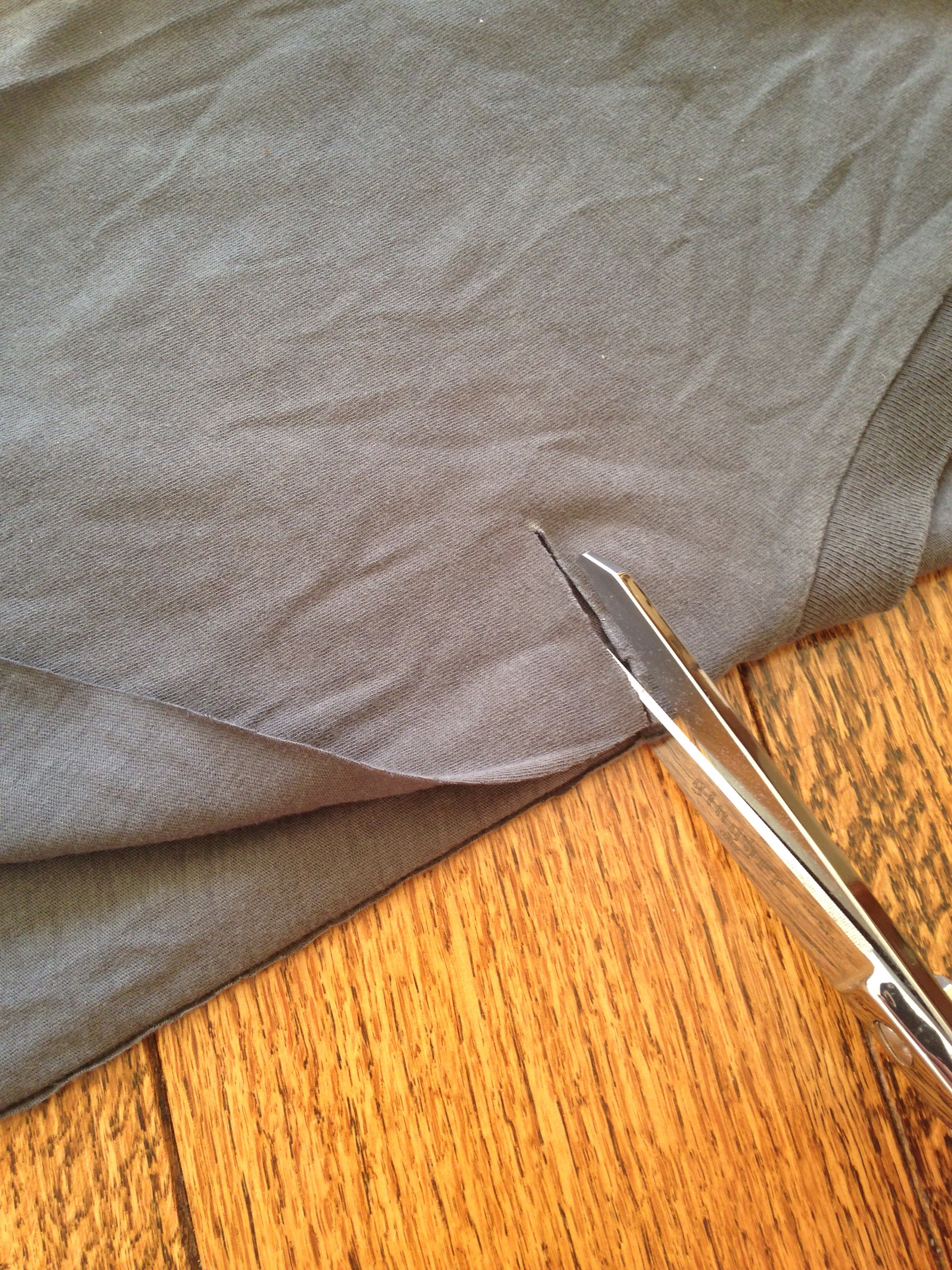 Picture of Cutting the Tee & Insert...