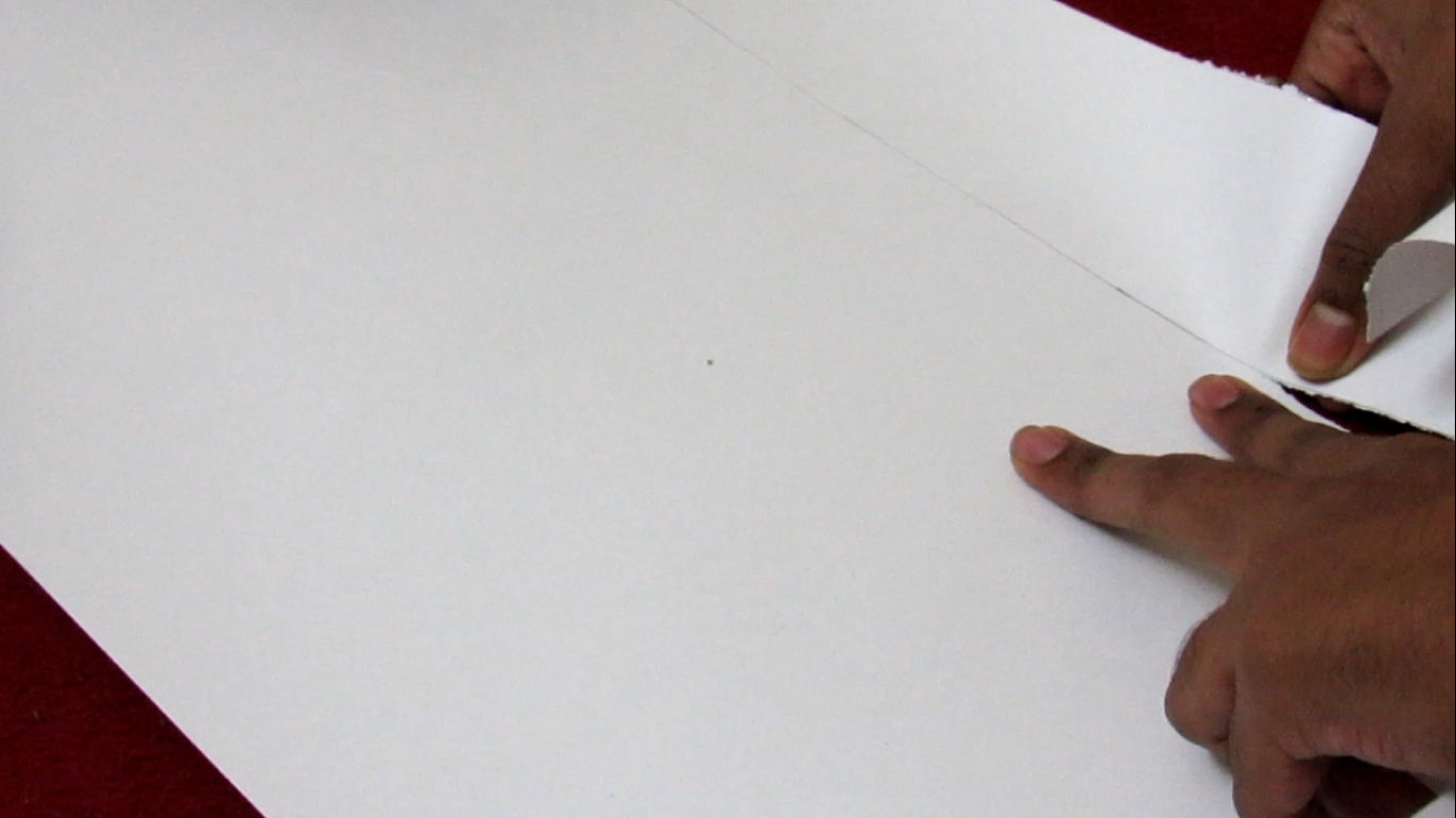 Picture of Cut the Chart Paper