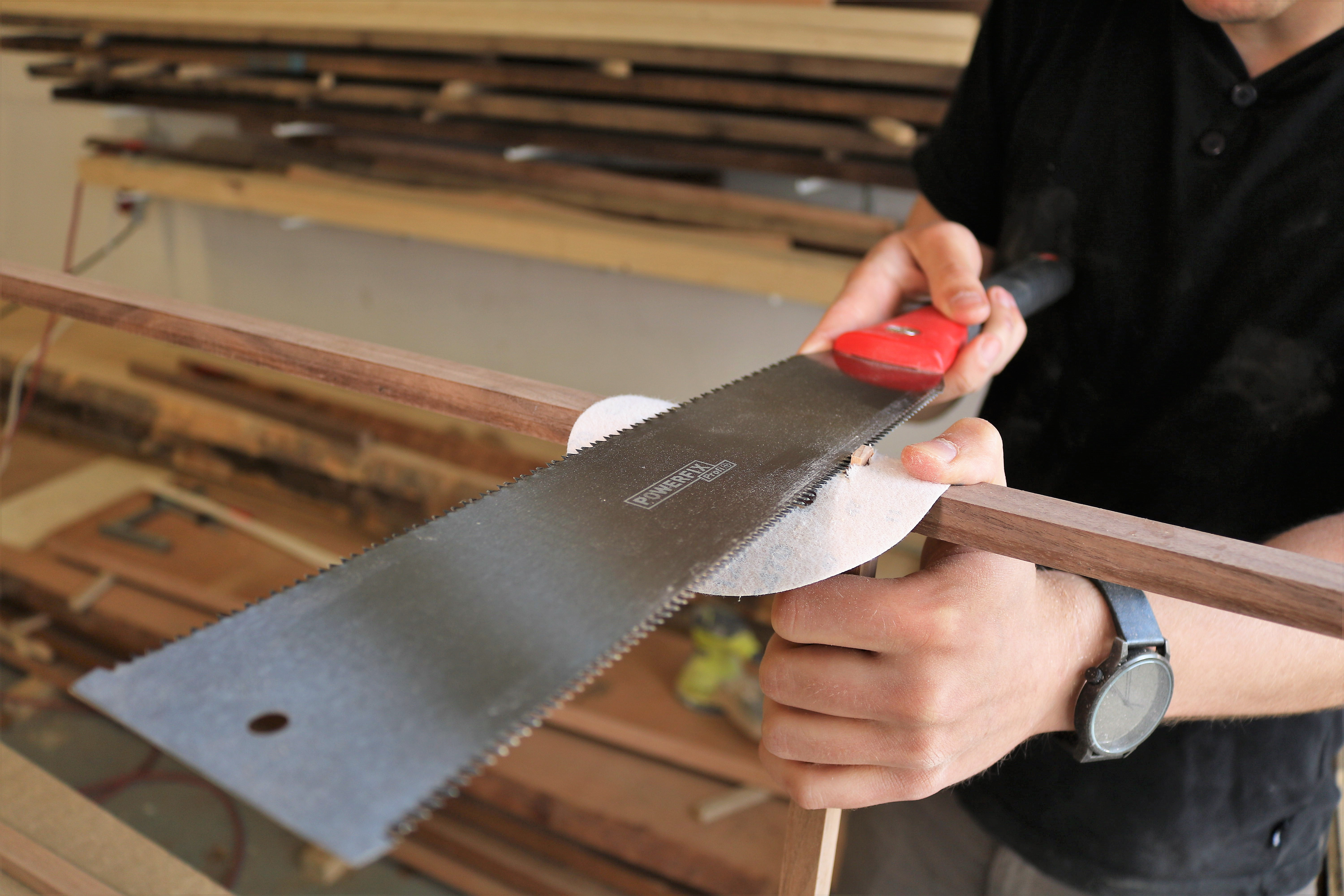 Picture of Making the Joiners With the Keel