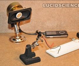 Laser Beam Microphone