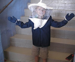 All-in-one Kid's Bee Jacket & Veil