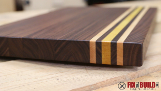 Picture of Custom Cutting Board From Scrap Wood