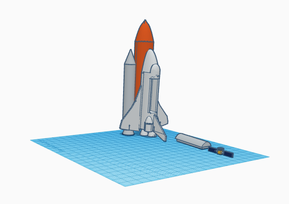 Picture of 3D Print a Space Shuttle