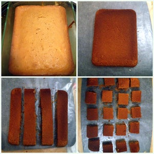 Cut the Cake in Square Shape