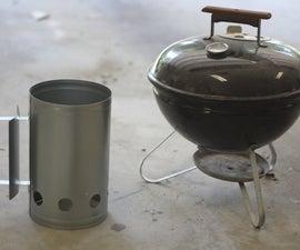 Super Mega Charcoal Grill (Rocket Grill)