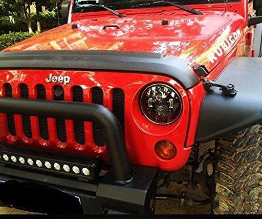 Jeep Wrangler JK LED Headlight Anti-Flicker Decoders: 6 Steps