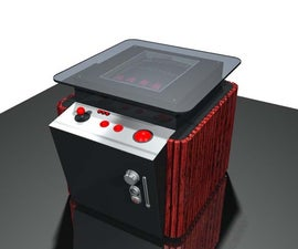 Furniture grade cocktail arcade cabinet