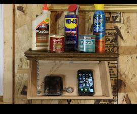 Shelf With Secret Compartment