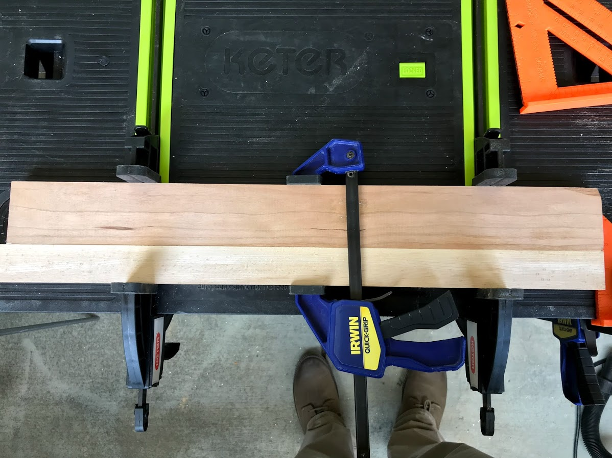 Picture of Arrange Wood and Glue the Boards