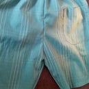Pair of Boxer shorts from old shirt - DIY