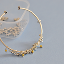 Recycling Old Hoop Earrings