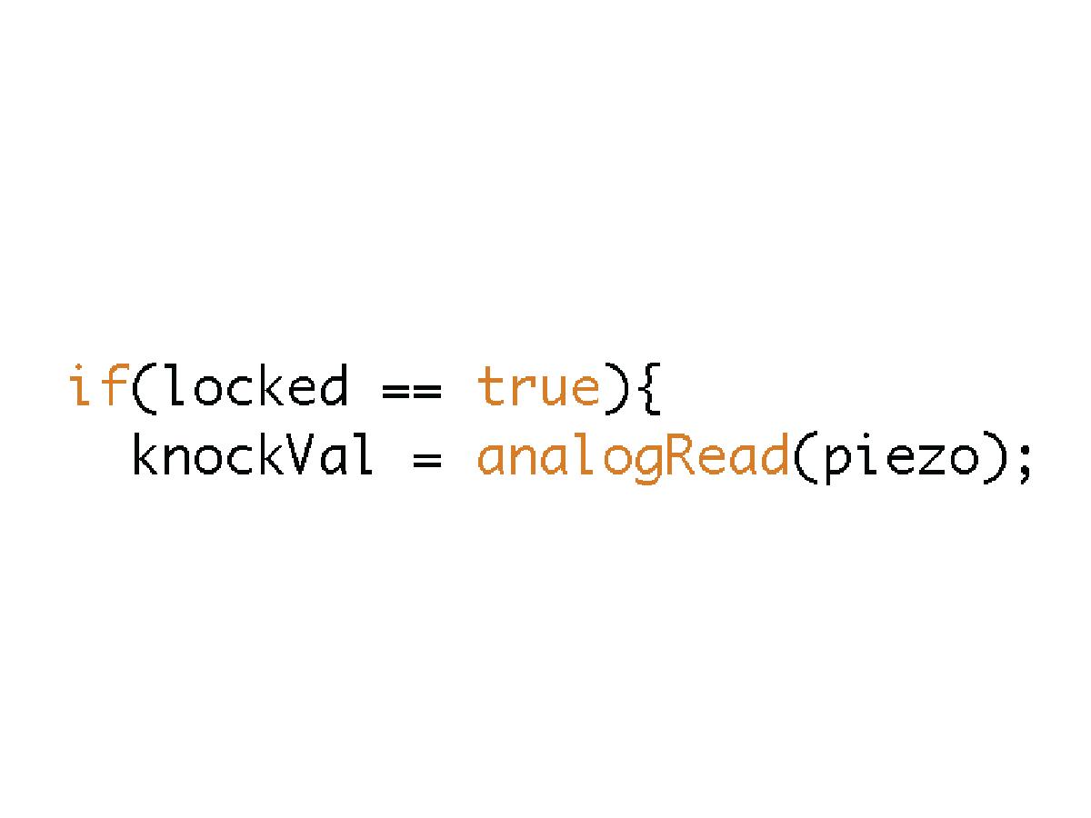 Picture of Check Lock Status: TRUE