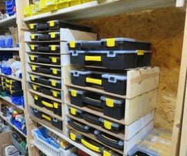 Stacking Shop Hardware Organizer