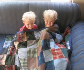 Cozy Blanket From Recycled Materials