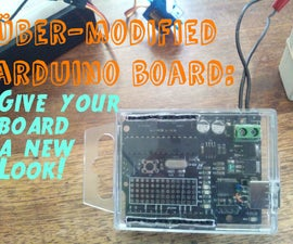 30 minute projects: Über-modified arduino board (arduino keychain)