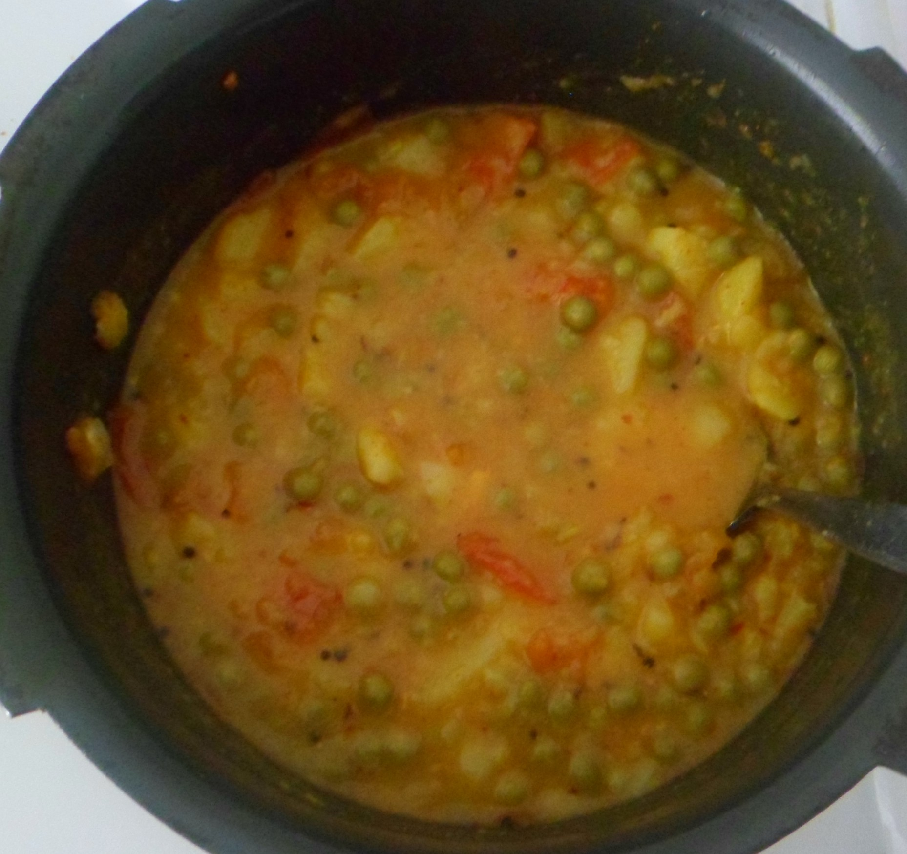 Picture of Add Boiled Fresh Green Peas