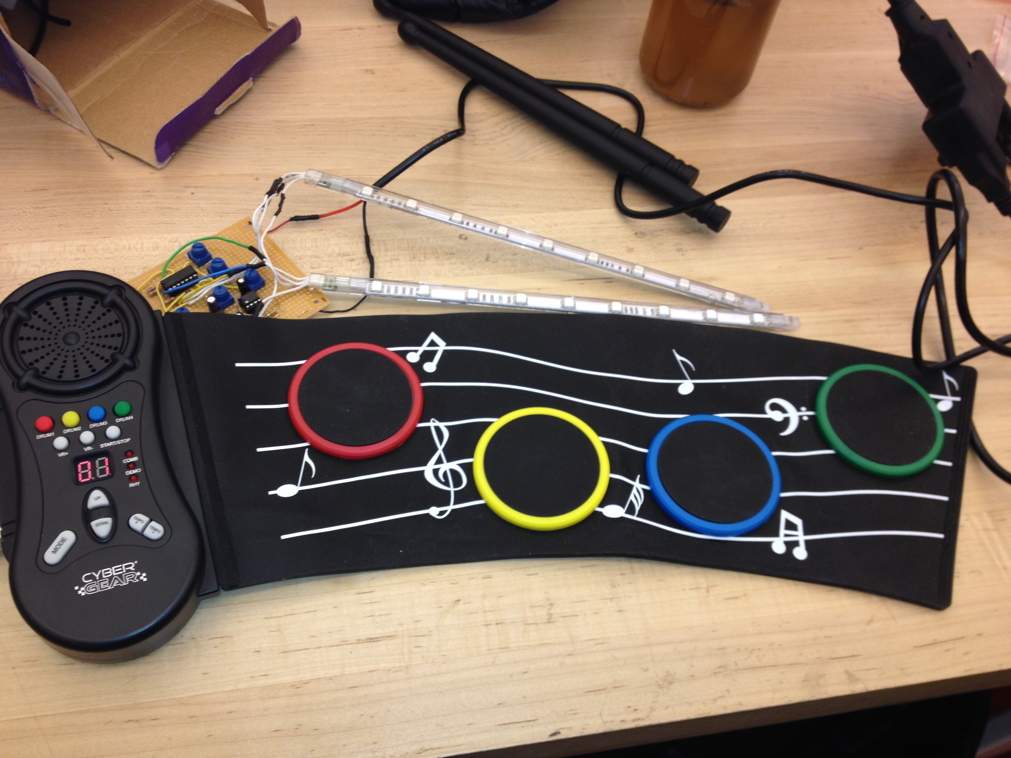 Picture of Toy Drum W/ LEDs