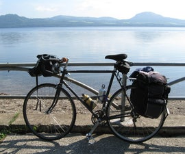 Bike Camping in Japan- on a shoestring