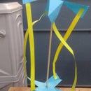 Four Blade Paper Fan