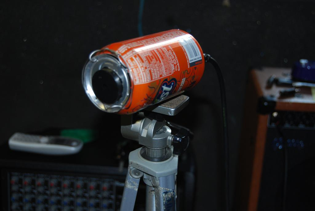 Picture of Make an Old Timey Sounding Microphone for Free to $5