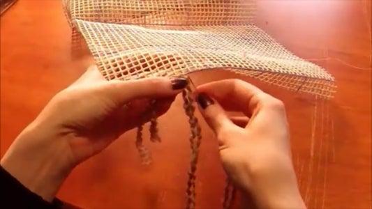 Whip Stitch the Edges