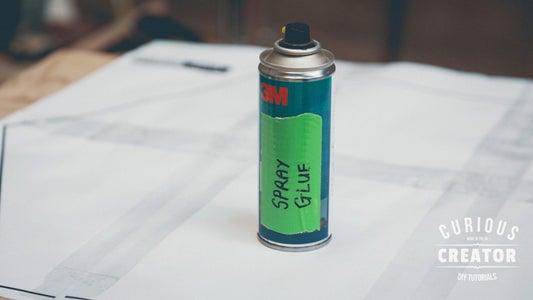 Spray, Glue