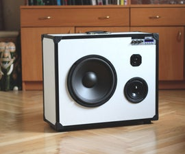 Portable 3-way hifi speaker/boomcase