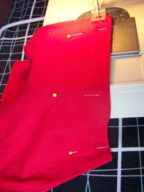 Sew the Sleeve Bottom