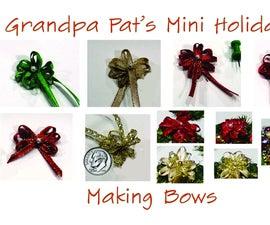 Making Miniature Bows